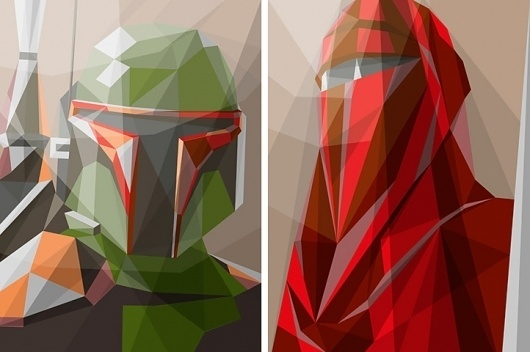 Liam Brazier— « Because I Can #vector #wars #illustration #star #poster