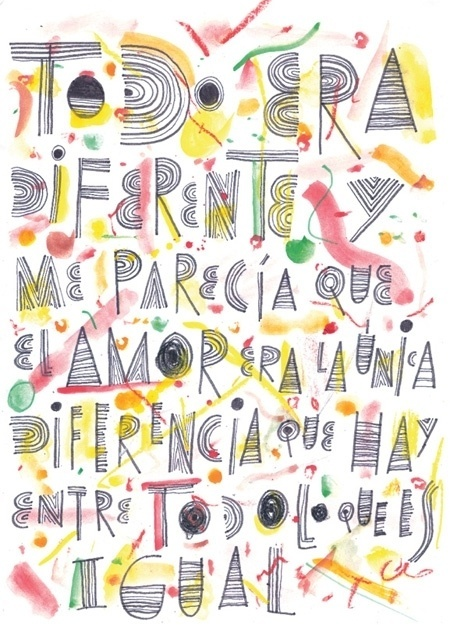 BOSQUE Estudio/Taller Carpaccio Magazine - #colorful #lettering