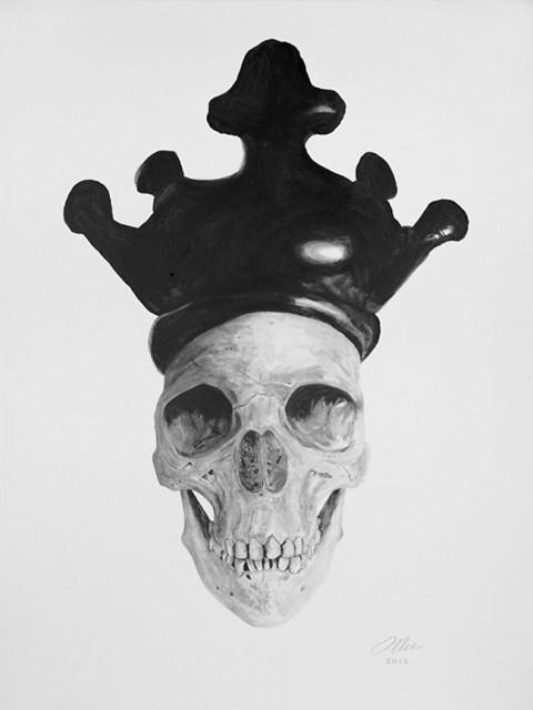ollie ink4 #skull