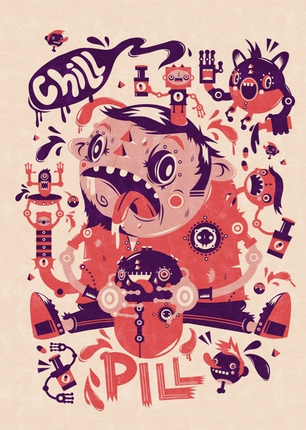 Chill Pill on the Behance Network