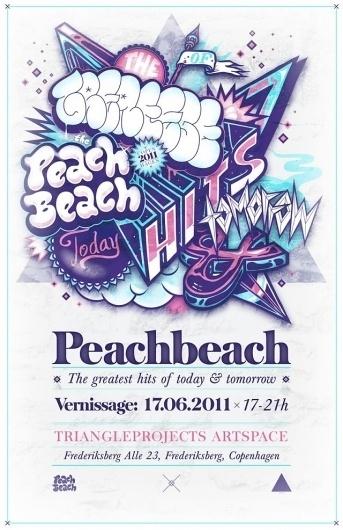 Berlin grafitti crew udstiller i nystartet artspace | Dansk Dynamit #grafitti #exhibition #peach #copenhagen #beach
