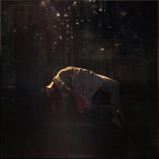 forest levitation by ~belovaan on deviantART #dream #girl