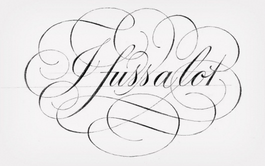 Remembering Doyald Young: idsgn (a design blog) #calligraphy #lettering #typography
