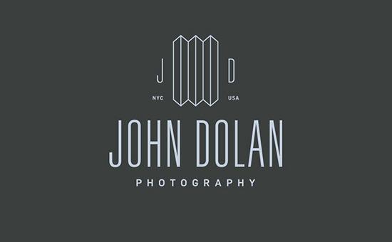 John Dolan Photography Logo Design #logo #brand #design #identity