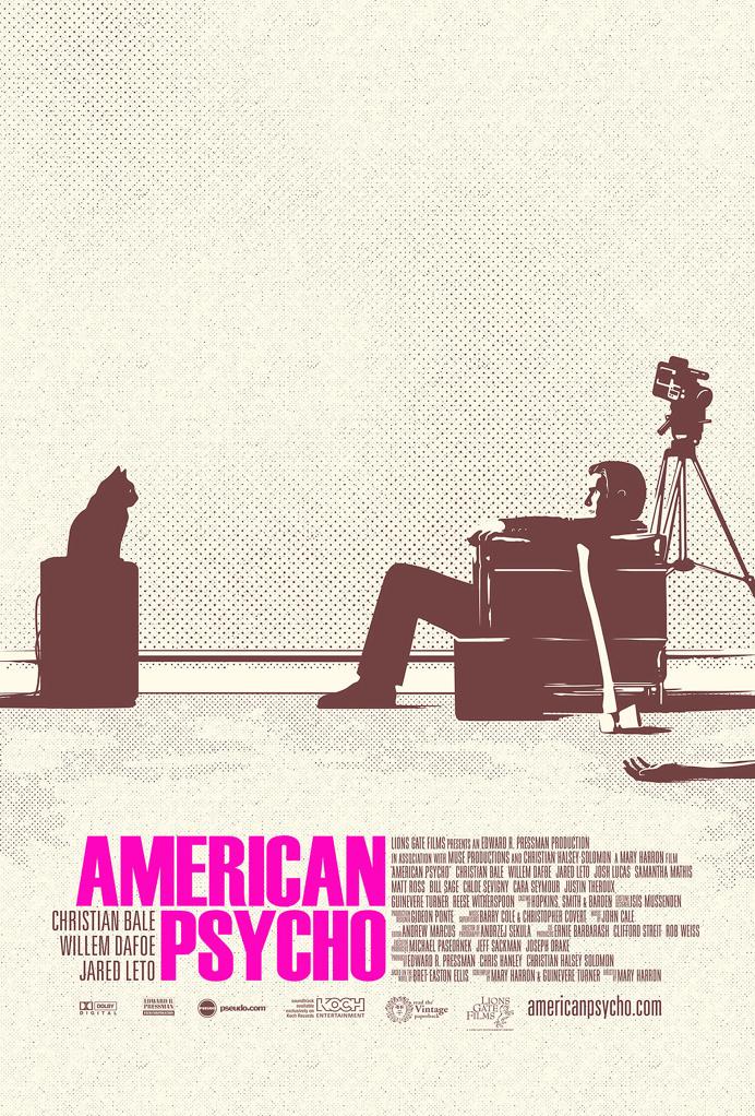 American Psycho Alternative Movie Poster