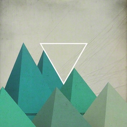 Tanya Johnston Illustration + Design #abstract #textured #geometric #triangles