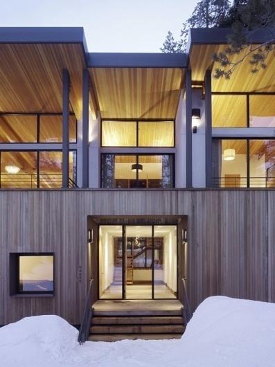 WANKEN - The Blog of Shelby White » Sugar Bowl Residence #interior #modern #design #wood #architecture #residence