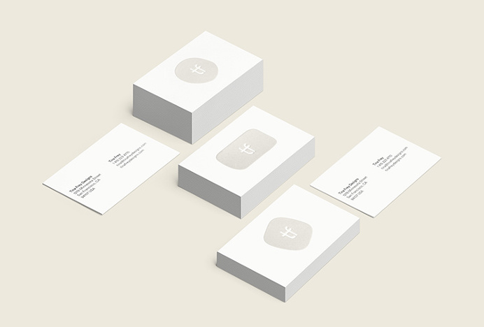 Tina Frey Designs by Mucho #print #graphic design #stationary #business cards