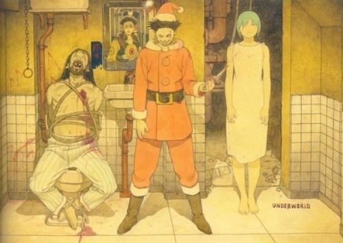 wearegages™ | Inspire Your Mind Everyday » Blog Archive » Illustrations by Tatsuyuki Tanaka #tanaka #tatsuyuki #japanese #manga #illustration #scifi #anime #cartoon