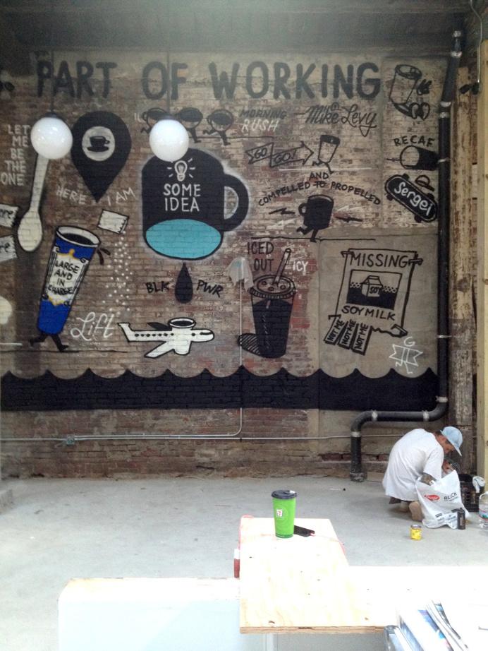mural, tattoo, flash, steve powers
