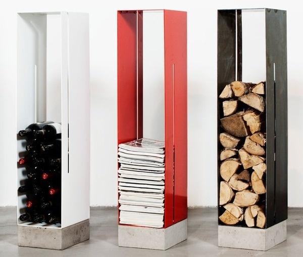 Manhattan Cabinet Storage by Cornelia Norgren #tech #gadget #ideas #gift #cool