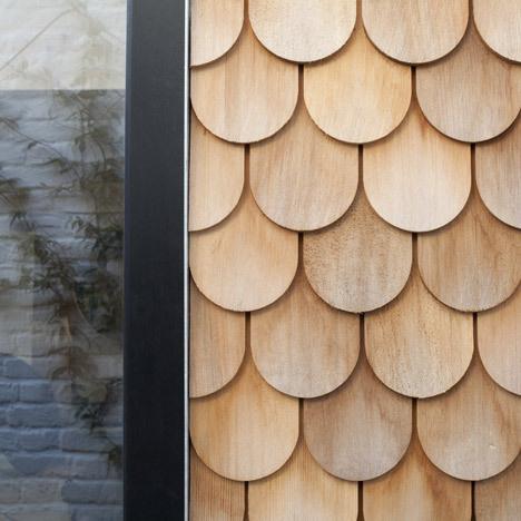 Gingerbread House by Laura Dewe Matthews #interior #glass #wood #kitchen #architecture #light