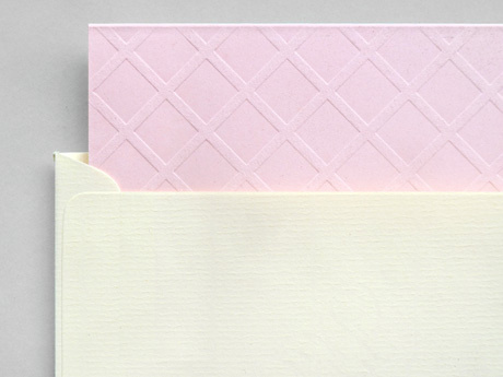 Present&Correct Pink Wafer Card #stationary
