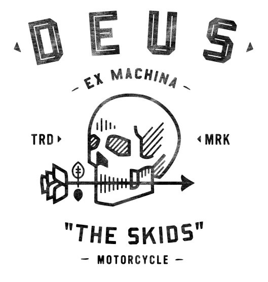 Neighborhood Studio DEUS EX MACHINA #illustration #skull