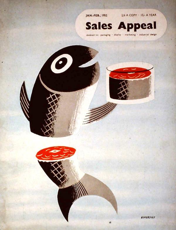 Eckersley00 #illustation #sushi #fish #poster