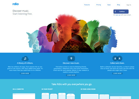 Rdio #website #radio #rdio