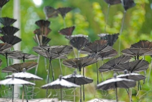 rain : orient #umbrella #installation #fellerer #photography #art #marge