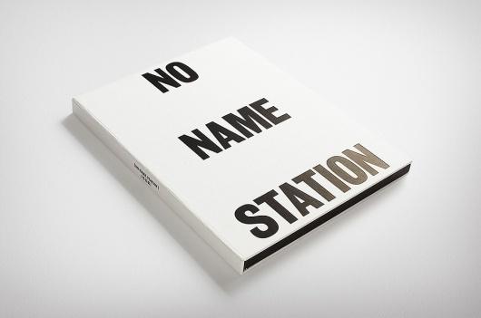 News/Recent - Fabio Ongarato Design | No Name Station #ongarato #fabio #booklet #design