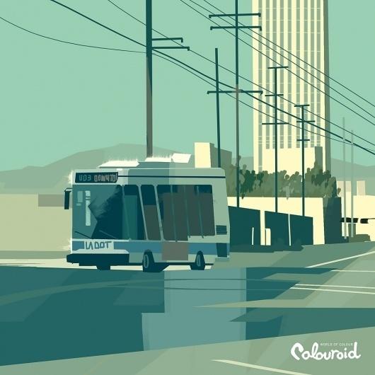 tumblr_lx9oz4XRaK1r9626to1_1280.jpg 1.000×1.000 pixels #city #photo #illustration #color