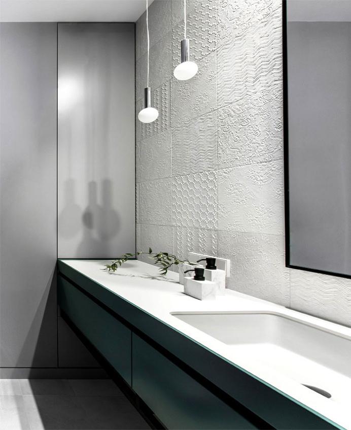 Apartment in Grey Tones by AKTA