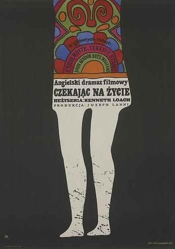 Voices Of East Anglia: 1960s Polish Film Poster Art #print #design #poster #illustration