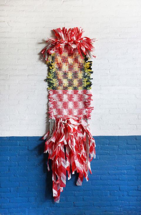 'Union of Striped Yarn' by Dienke Dekker   PICDIT #design #art