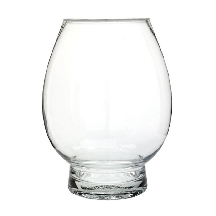 Balloon Glass Hurricane, 25 cm H x 20 cm D