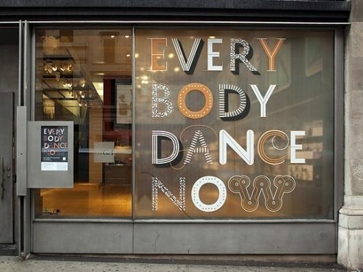 HOW Magazine Blog | Thursday Type Treat #window #signage #typography