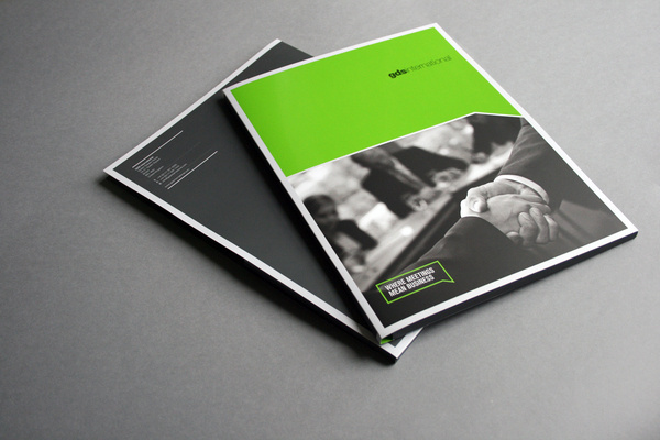 Corporate Events Folder #corporate #design