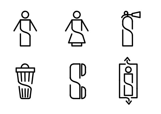 Pictograms for hardware warehouse #icons