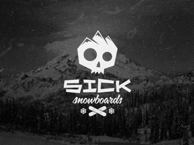 Sick Snowboards #logo #sick #snowboards