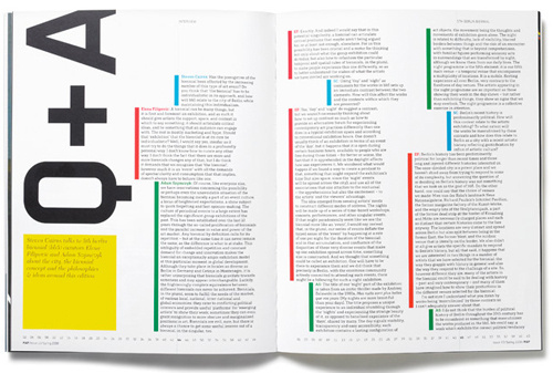 Creating Exciting And Unusual Visual Hierarchies | Smashing Magazine #page #hierarchy #print #color #grid #spread #bars #layout #indent