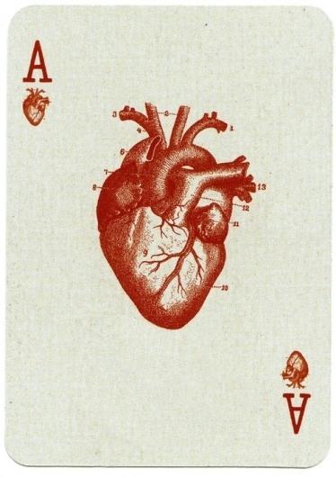 coqueterías - bastardette: deadasleaves:msbojangles:hallelujah #heart #cards #red