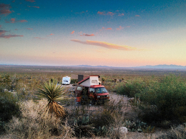 The Southwest Thinklab Productions, Inc. #camping #photography #westfalia #vw #desert