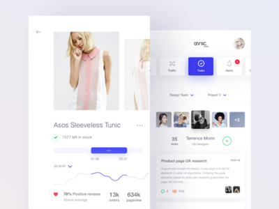 iOS UI Profile Inspiration