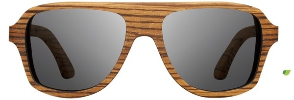 Shwood | Ashland | Zebrawood | Wooden Sunglasses #glasses #wooden #zebrawood #sunglasses #wood #shwood #ashland