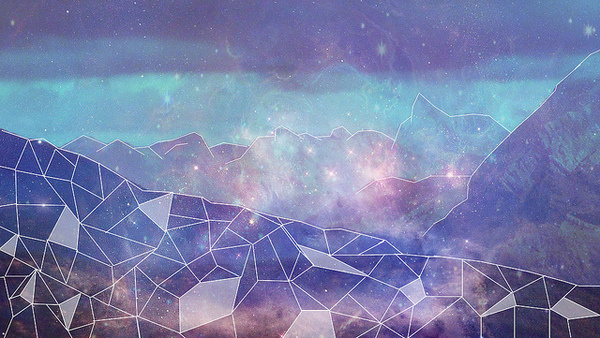 UNMIX21 #illustration #stars #space #geometric