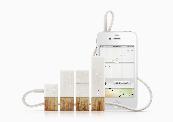 lapka: bacteria, radiation and EMF detection device for iPhones #iphone