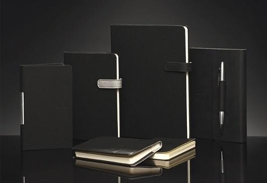 Arwey Notebooks on the Behance Network #arwey #black #journal #notepad #notebook