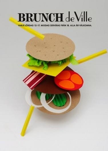 Pristina.org | Everything Design por Felipe Tofani - Part 8 #craft #design #food #hamburger