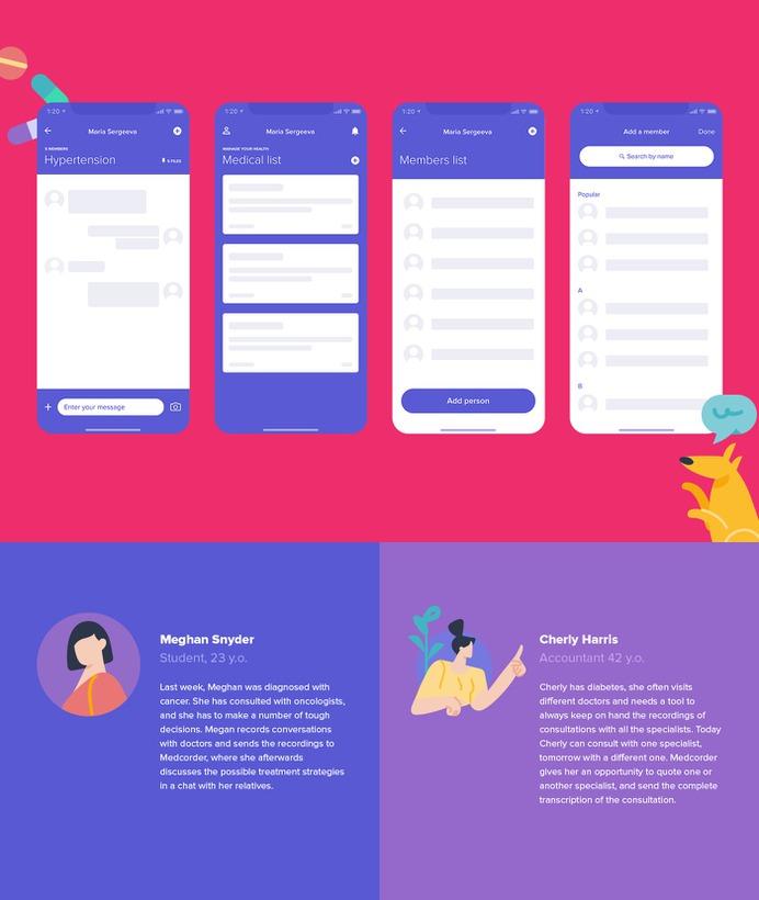 Medcorder mobile app