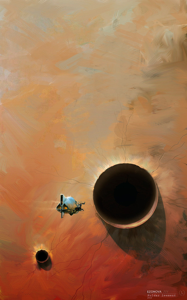 The Art Of Animation, Kuldar Leement #fantasy #fi #space #sci #spaceship #illustration #painting #planets