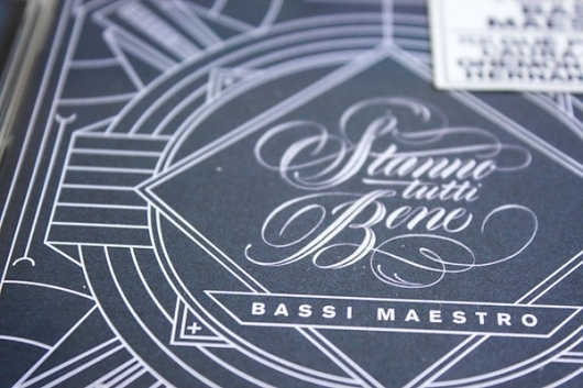 Bassi Maestro #design #graphic #typography