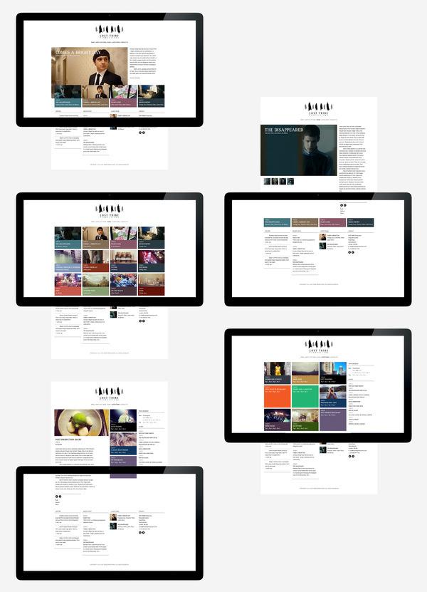 LostTribe Productions   Studio Contents #design #website #digital #layout #web