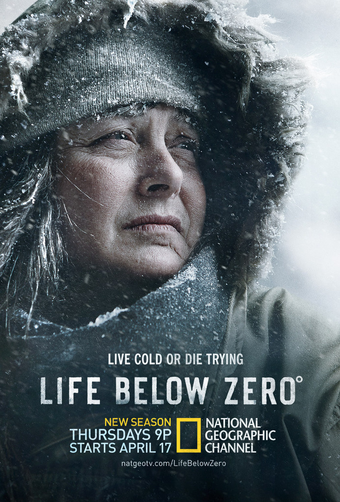 Life Below Zero #portrai #below #geographic #geo #aikens #zero #nat #photography #sue #national #life