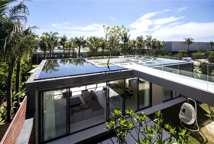 Naman Residences – Garden Villa on the Non Nuoc Beach - #architecture, #house, #home, home, architecture