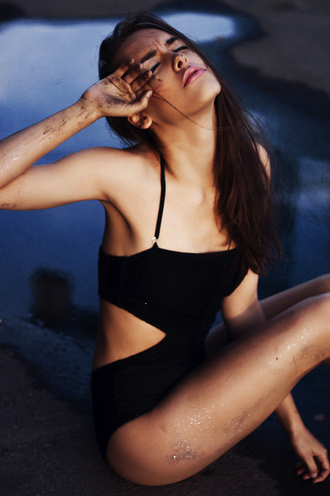 Katarzyna Kmiotek by Weronika Mamot #model #girl #photography #bikini #fashion
