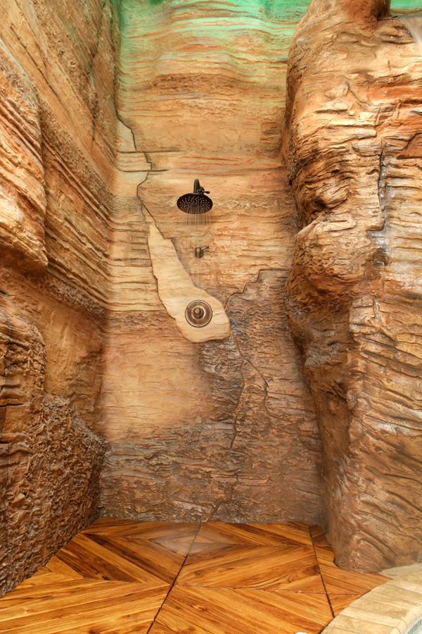 Amazing bathroom shower design #shower #bathroom