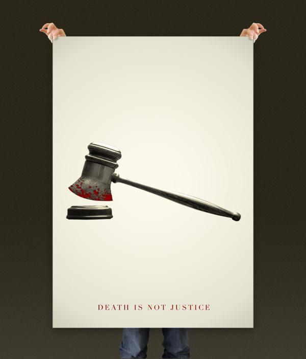 Death is not Justice #justice #quito #rickcuenca #poster #cartel #death #ecuador