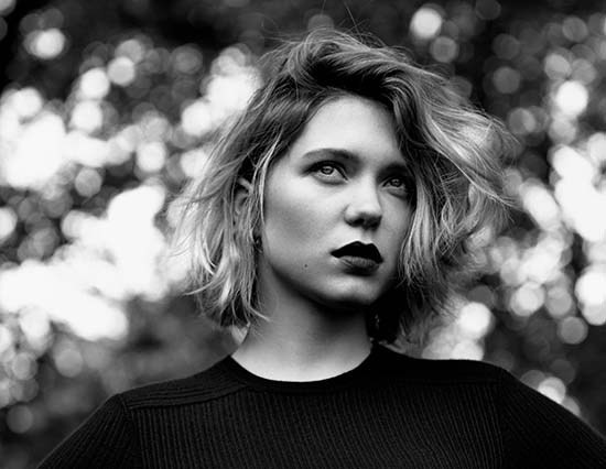 French actress Léa Seydoux is the new face of Louis Vuitton